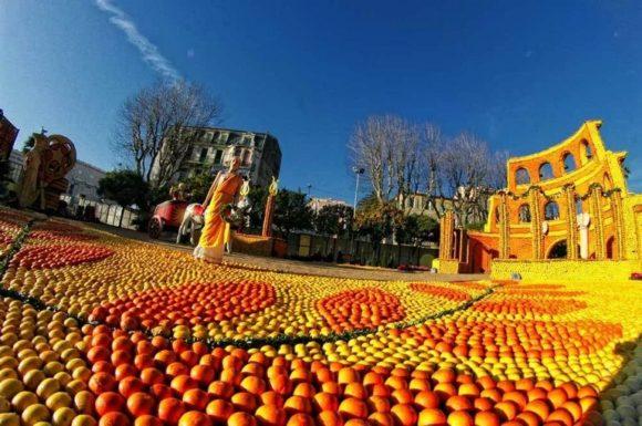 Fête du citron et Carnaval de Nice