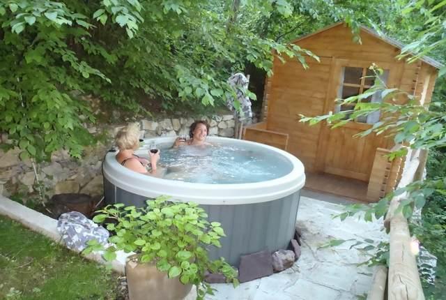 Jacuzzi et sauna