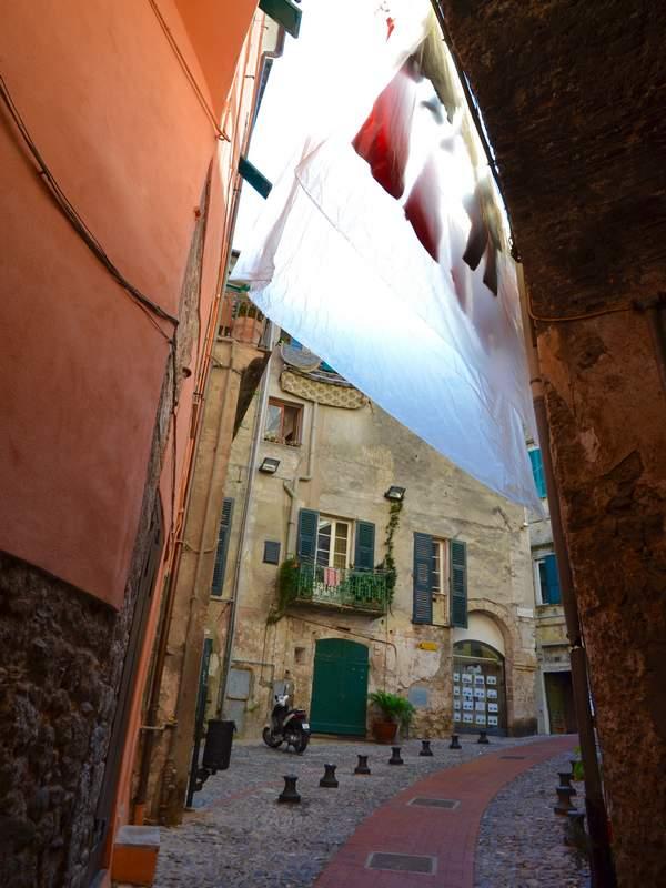 Ruelle en Italie
